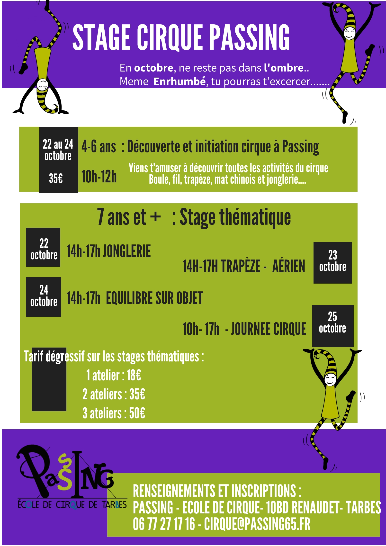 stage cirques