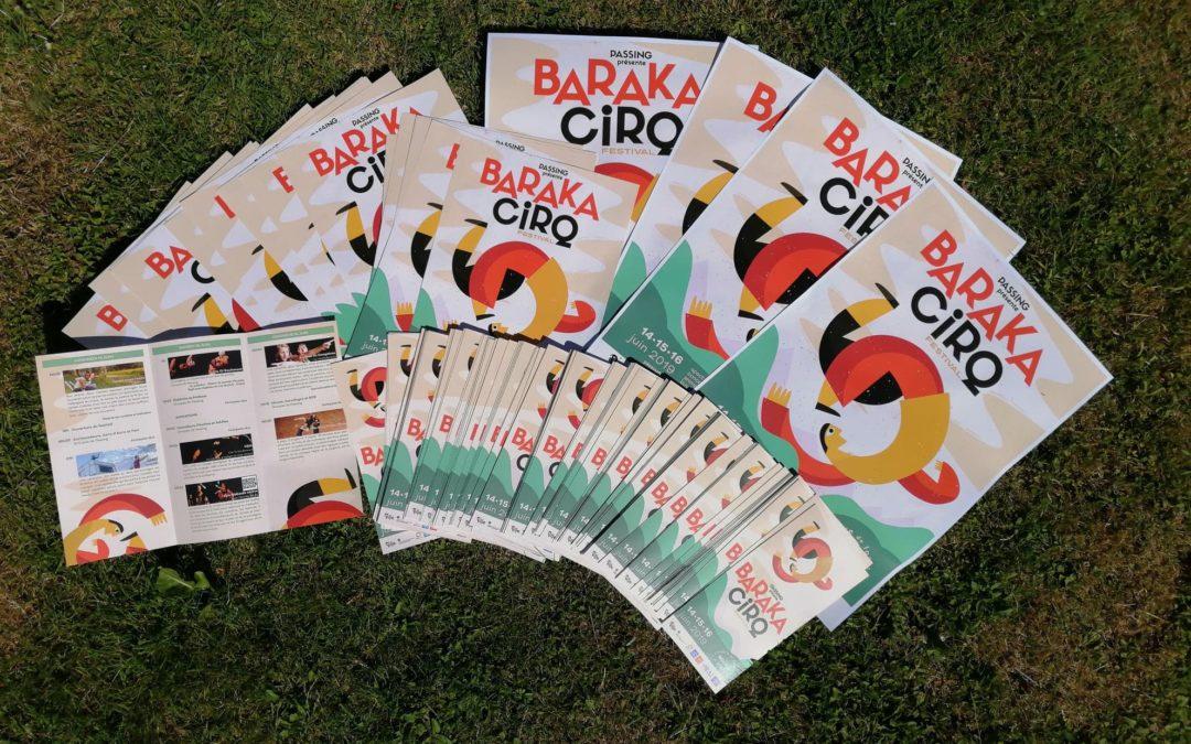Derniers jours avant le Barakacirq Festival !