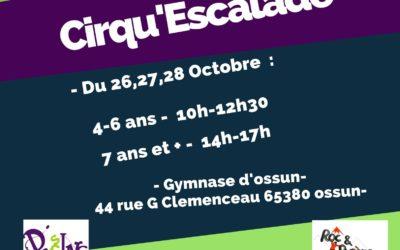 Stage d'automne : Cirq'escalade